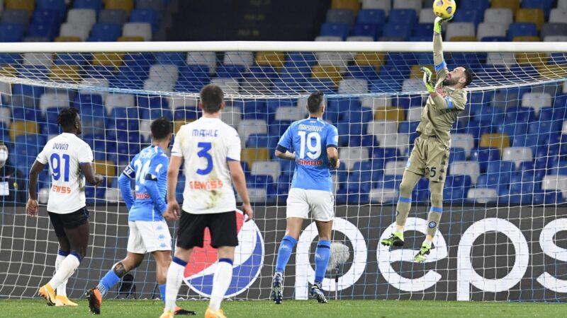 Coppa Italia, Napoli e Atalanta non si fanno male