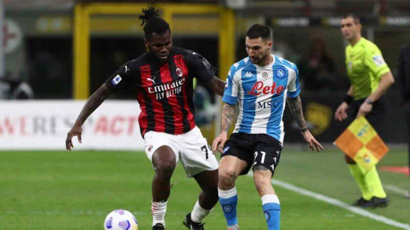Milan – Napoli 0-1, le pagelle: Leao, il peggiore. Rebic, che follia!