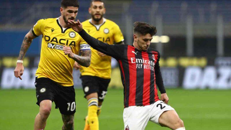 Milan – Udinese 1-1, le pagelle: male Leao e Theo, si salva Kessié