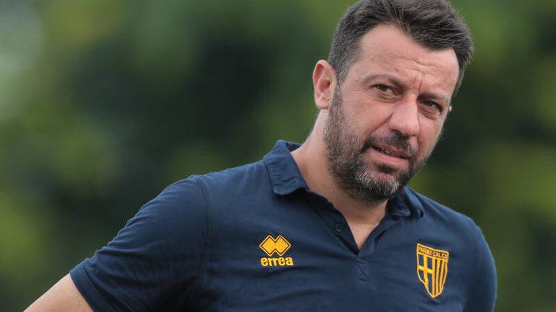 """D'Aversa: """"Milan con pochi punti deboli. Per fare risultato serve che i rossoneri siano in giornata no"""""""