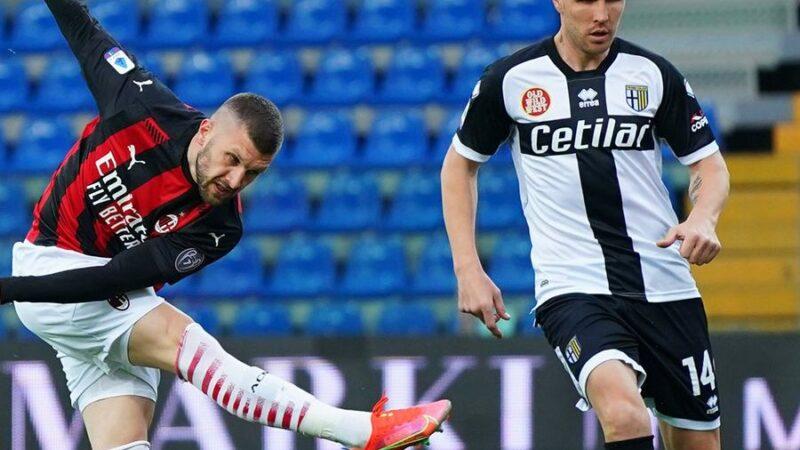 Parma-Milan 1-3: Rebic apre, Leao chiude, Ibra rischia di rovinare tutto. Dal Tardini escono 3 punti d'oro